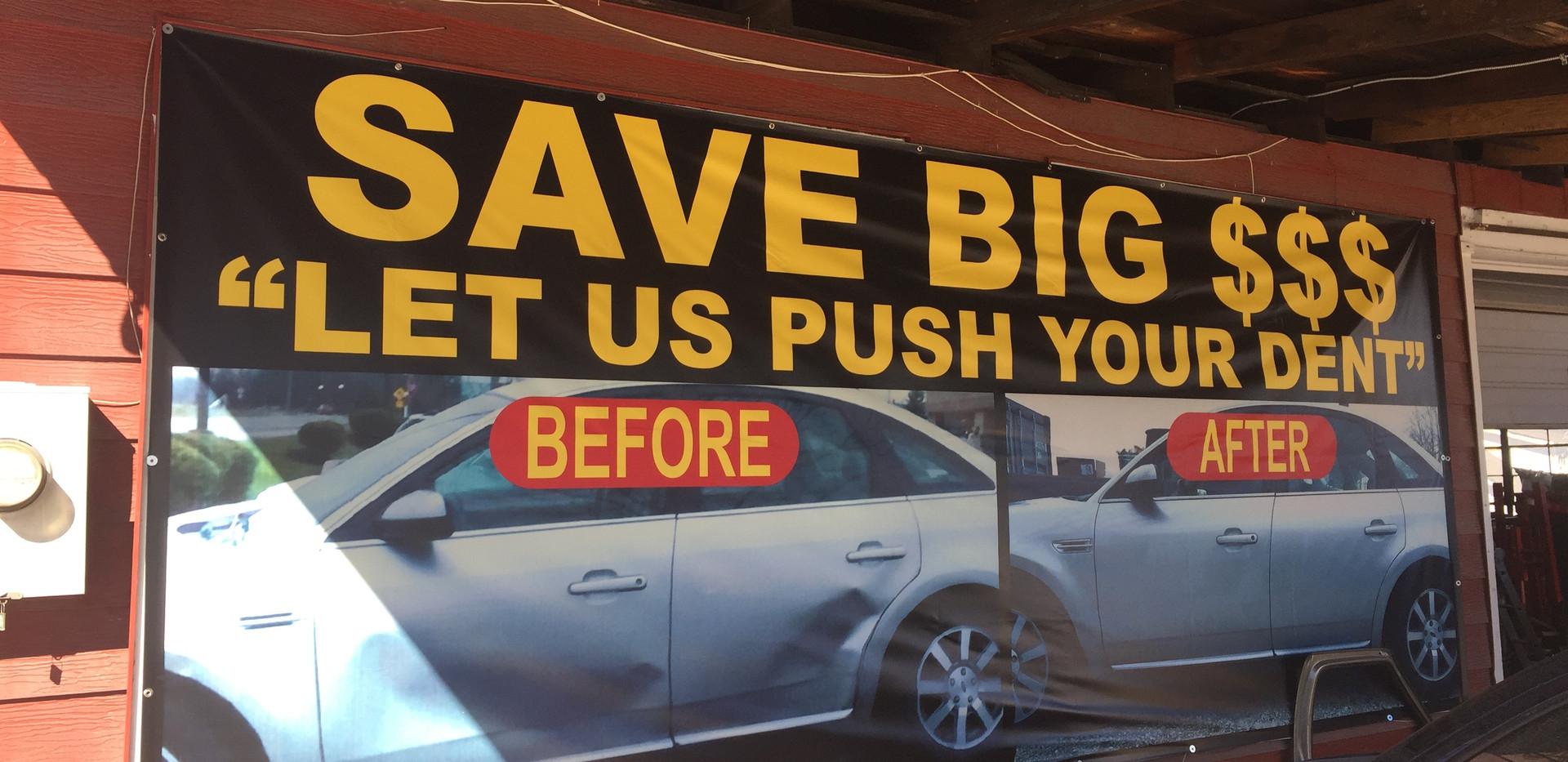 Save Big Banner