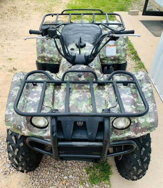 ATV Camo Wrap