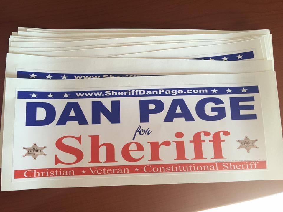 Dan Page Bumper Stickers