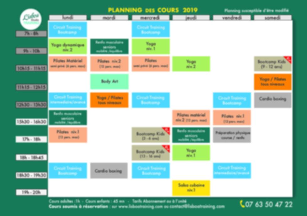 Planning Lisboa Training