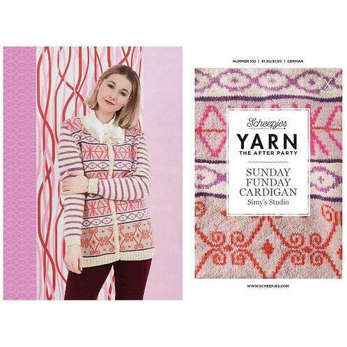 YARN THE AFTER PARTY NR.102 SUNDAY FUNDAY CARDIGAN