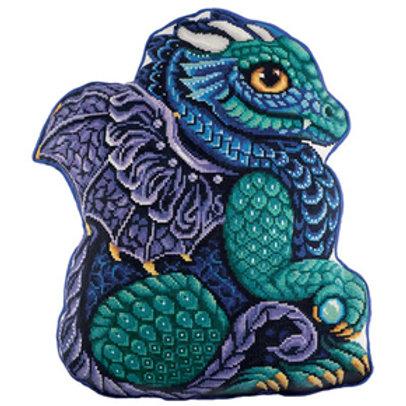 Borduurpakket Cushion Front My dragon - PANNA