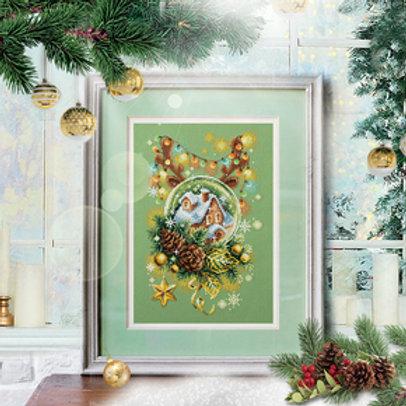 Borduurpakket Light Christmas - Chudo Igla