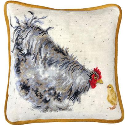Borduurpakket Hannah Dale - Mother Hen Tapestry