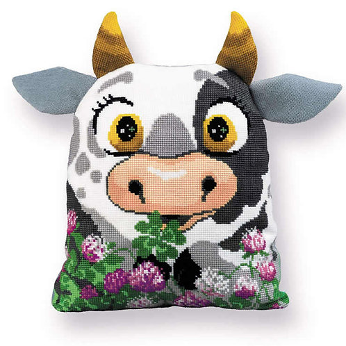 Kussen borduurpakket Calf Cushion - RIOLIS