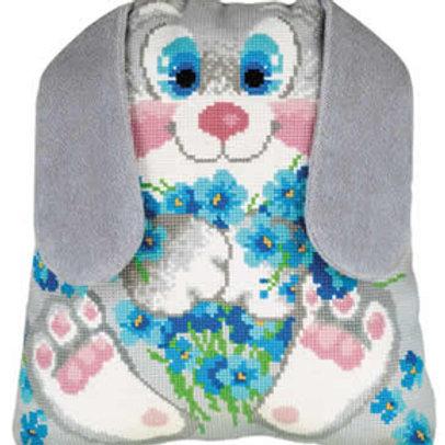 Borduurpakket Bunny Cushion - RIOLIS