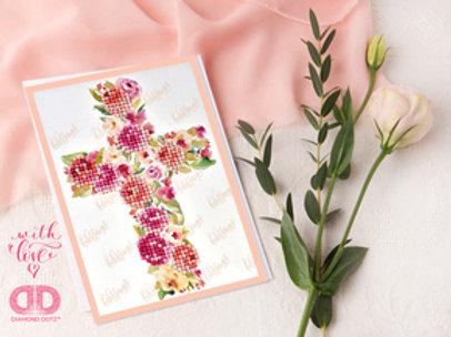 Diamond Dotz Greeting Card Blessings