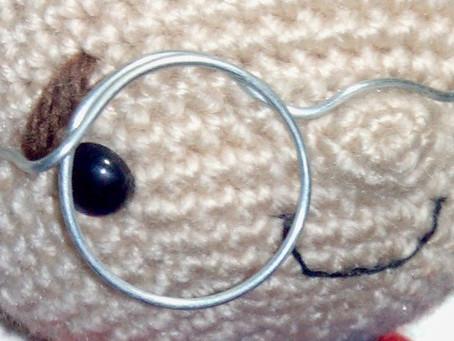Amigurumi bril zelf maken Gratis patroon