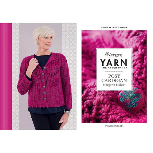 YARN THE AFTER PARTY NR.48 POSY CARDIGAN
