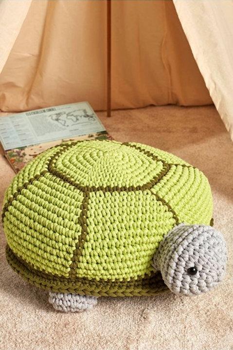 Schildpad is gemaakt van DMC Nova Vita.