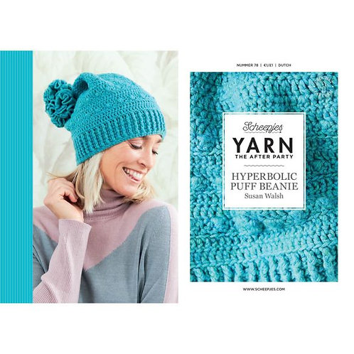 YARN THE AFTER PARTY HYPERBOLIC PUFF BEANIE