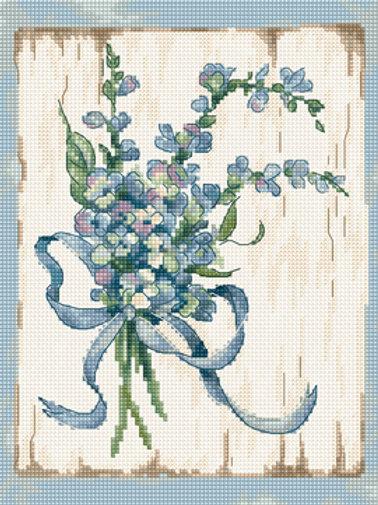 Borduurpakket Blue I - Leti Stitch