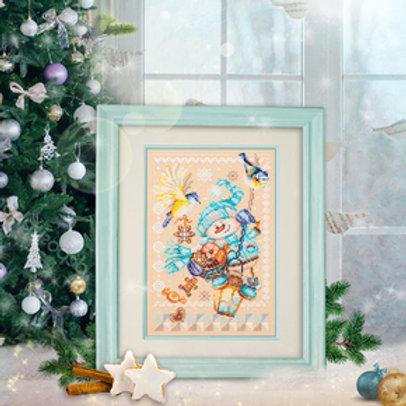 Borduurpakket Christmas Treats - Chudo Igla