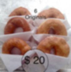6 Original Donuts