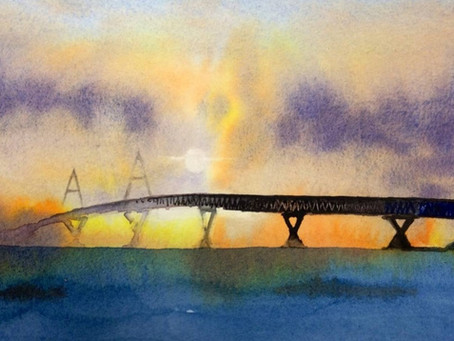Bridge Designers: Would you add permanent material for a temporary situation?