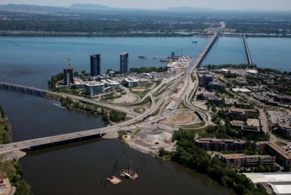 New Champlain Bridge, QB