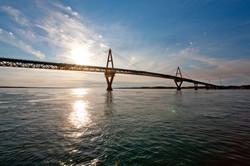 Deh Cho Bridge, NWT