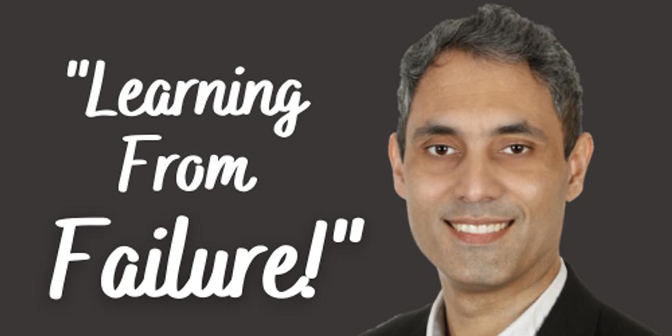 "Career Talk - ""Learning from Failures"". - Saqib Khan"