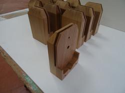 Usinage pièces en chêne