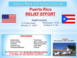 Puerto Rico Relief Effort