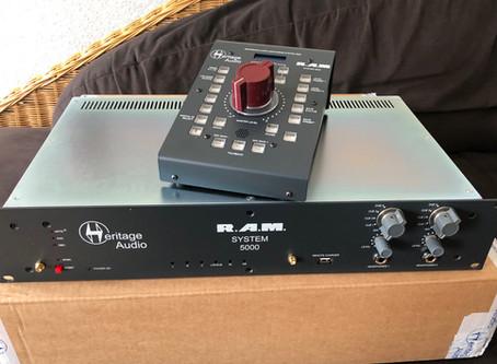 "19"" Gespräch: Heritage Audio R.A.M. System 5000"