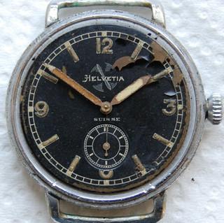 Helvetia 36mm Pilots Watch - Dial