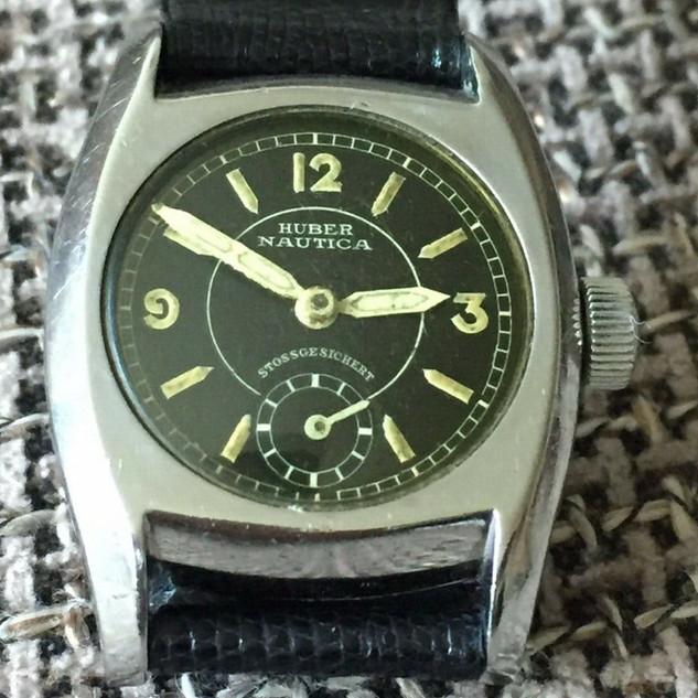 Helvetia (Huber) Steel Watch - 1937