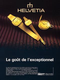 Helvetia SGT Advert 1979