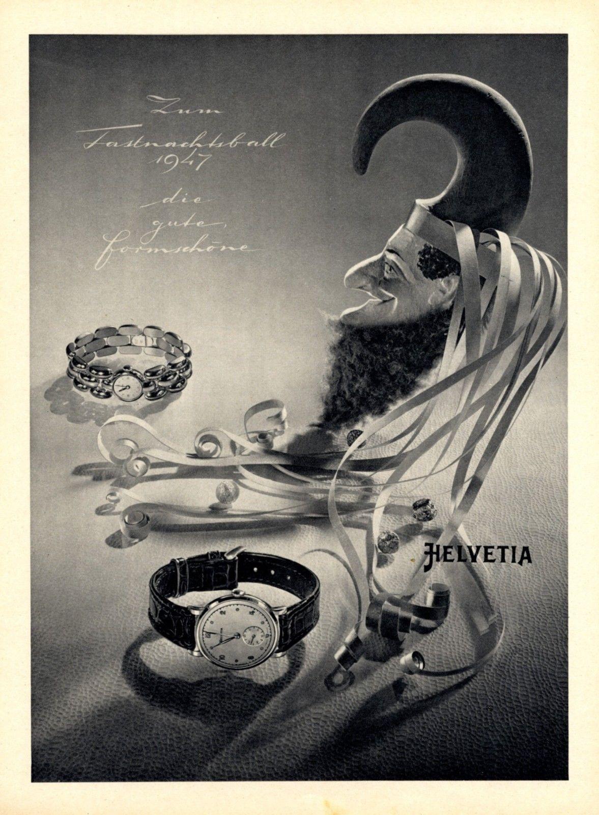 Helvetia Advertisement 1947