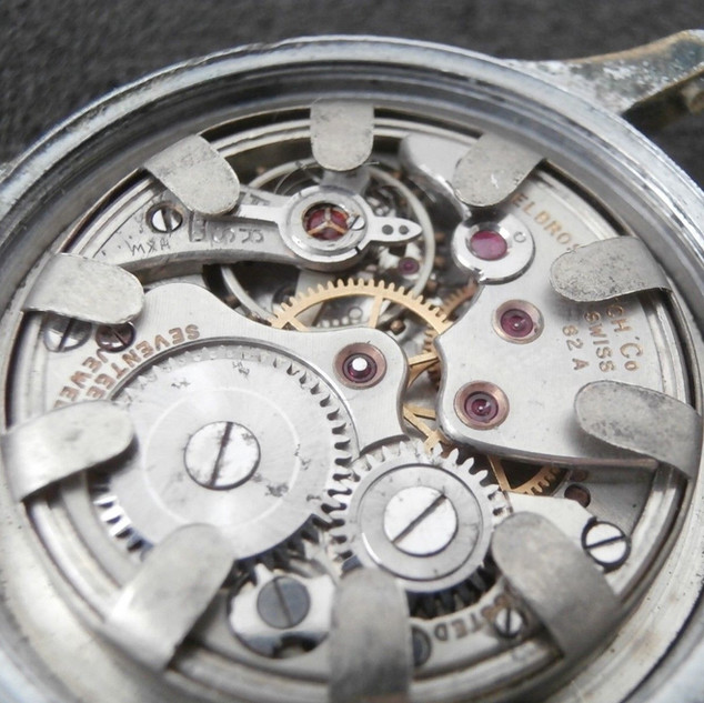 82A-28 Marked Helbros Watch Co