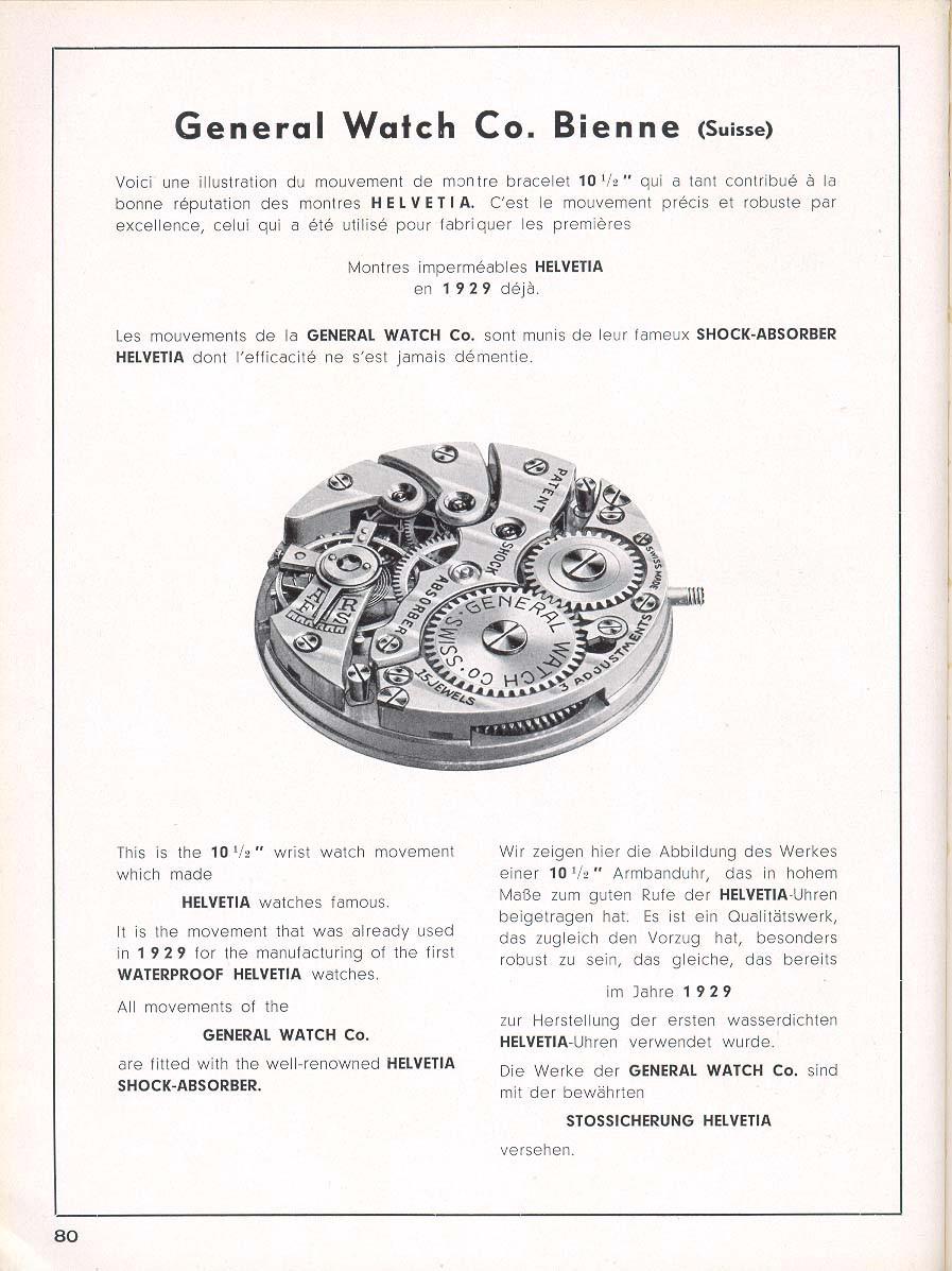 Helvetia Advertisement 1949