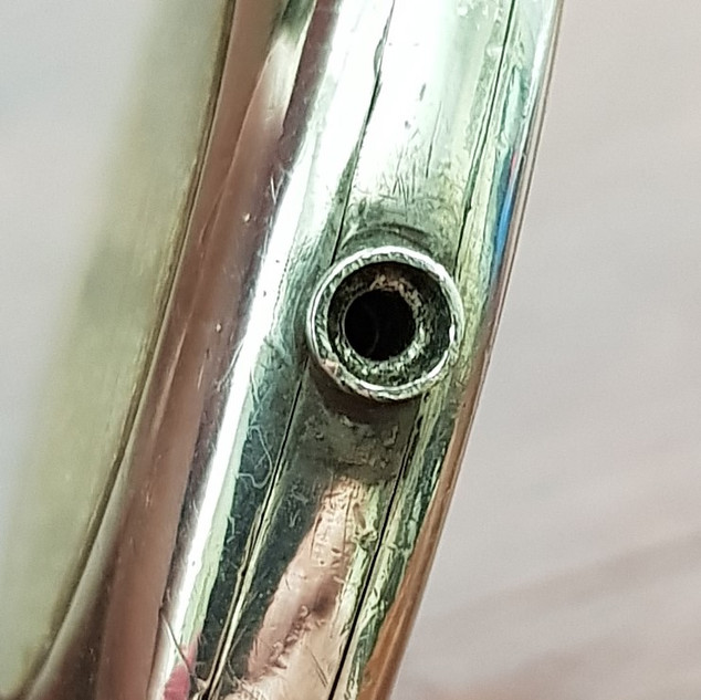 Stem Tube With Washer Fitting