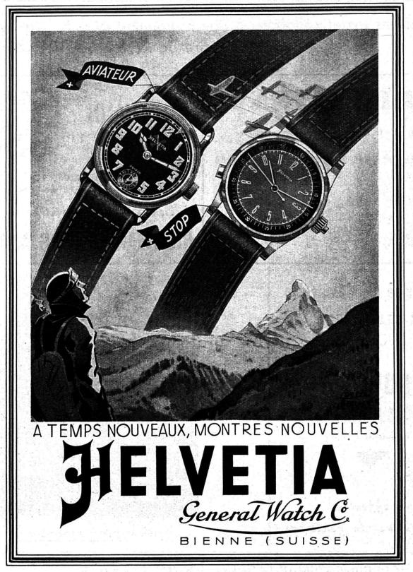 Helvetia Advertisement 1940