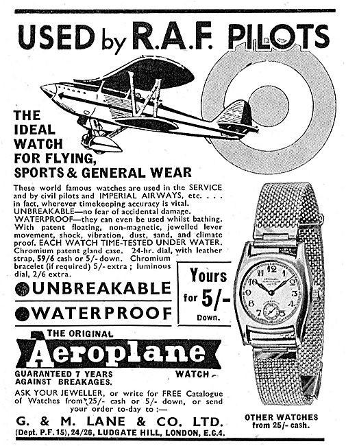 Aero Advert Circa 1936 2