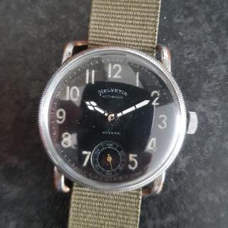 Helvetia 1930s Pilots Watch
