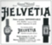 Helvetia Sports Watch Advert