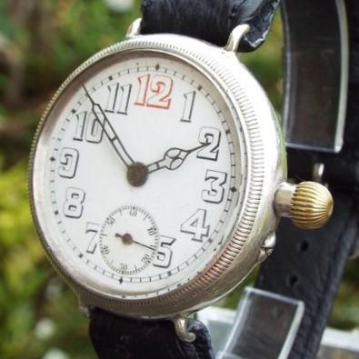 Helvetia Trench Watch - 1915