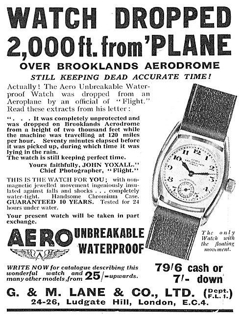 Aero Advert Circa 1934 1