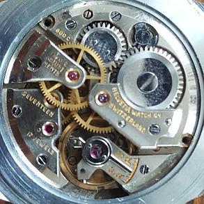Helvetia Calibre 800C Watch Movement