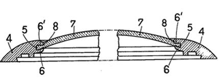 Helvetia Waterproof Crystal Patent