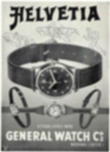 1930s Helvetia advertisement