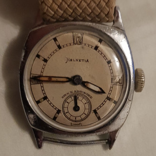 Helvetia Shockproof Watch - 1931