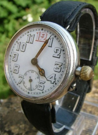 First World War Trench Watch with General Watch Co Movement