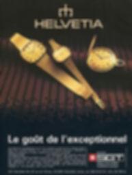 SGT Helvetia advert