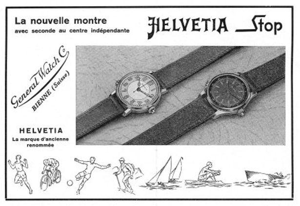 Helvetia Stop Advert 1941