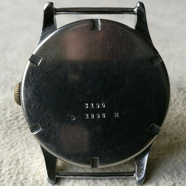 Type 1 DH Watch - Case Back
