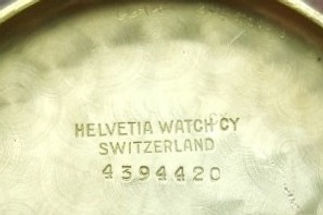 Helvetia Serial Number Inside Caseback