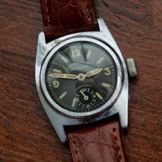 Helvetia 1930s Waterproof Sports Watch