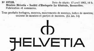 Helvetia Logo 1963