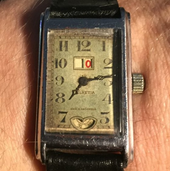 Helvetia Large Date Watch